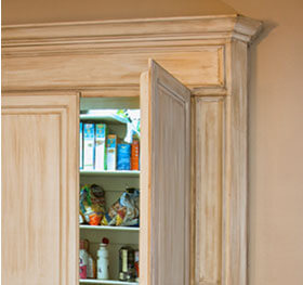 Cabinet Faced Pantry